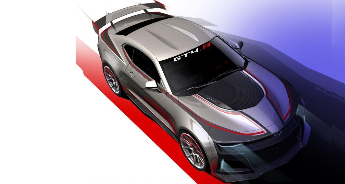 Chevrolet Camaro: une version radicale GT4.R en approche