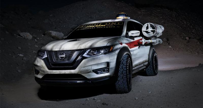Le Nissan X-Trail se prend pour un vaisseau Star Wars au salon de Chicago