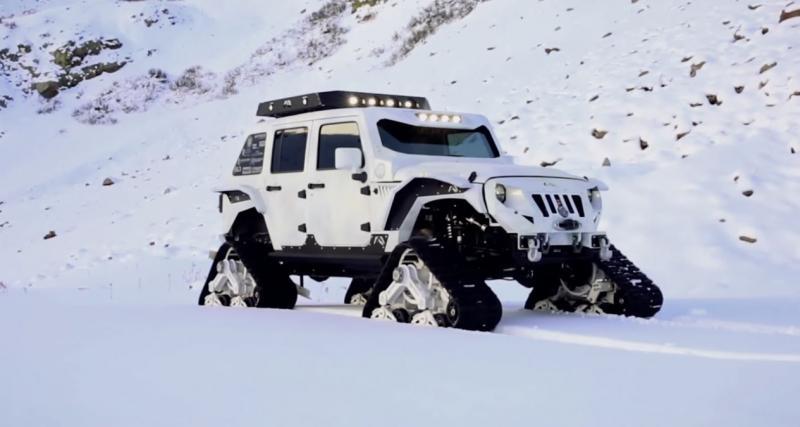 Découvrez le plus extrême des Jeep Wrangler à l'œuvre