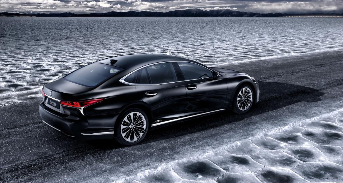 Nouvelle Lexus LS 500h: l'hybride confirmée pour Genève