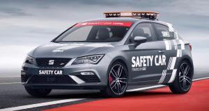 La Seat Leon Cupra devient voiture de sécurité pour le Superbike