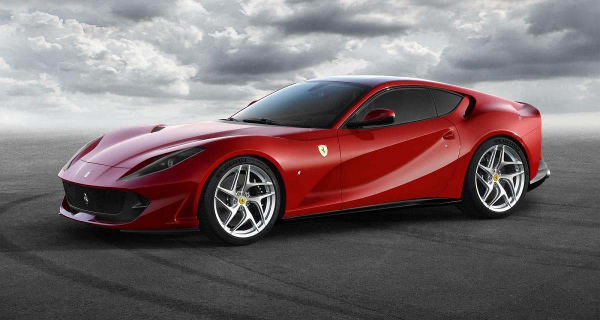 Ferrari 812 Superfast : avec un nouveau V12 de 800 ch