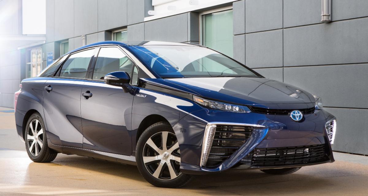 Toyota Mirai : un rappel pour la voiture à hydrogène