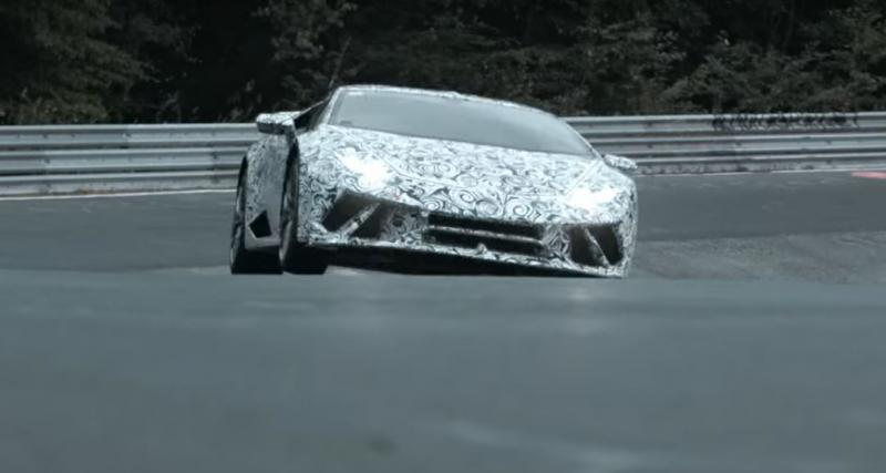 Lamborghini Huracan Performante : record du Nürburgring en vue ?