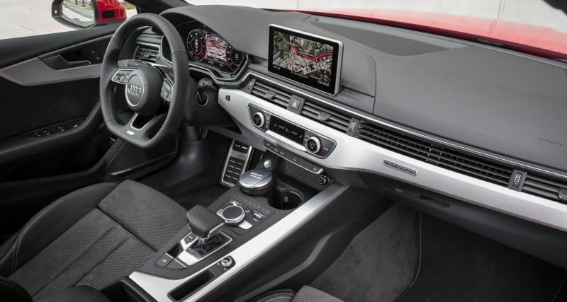 A bord de l'Audi A5 ou A4 ?