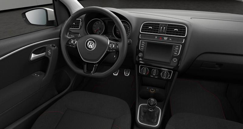 la s rie sp ciale match s 39 enrichie pour la volkswagen polo. Black Bedroom Furniture Sets. Home Design Ideas