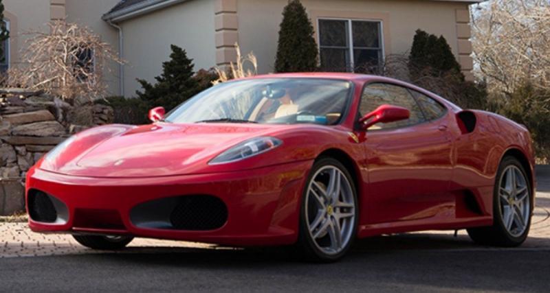 La Ferrari F430 de Donald Trump pourrait être à vous