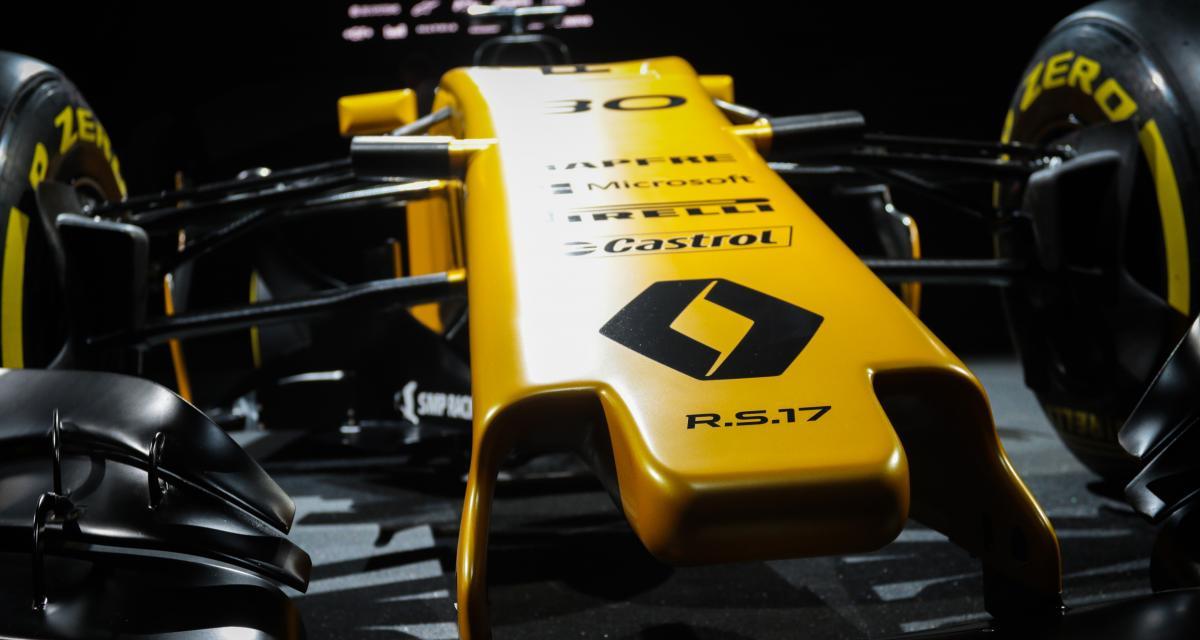 Présentation Renault F1: les Formule 1 2017 sauront-elles attirer les foules?