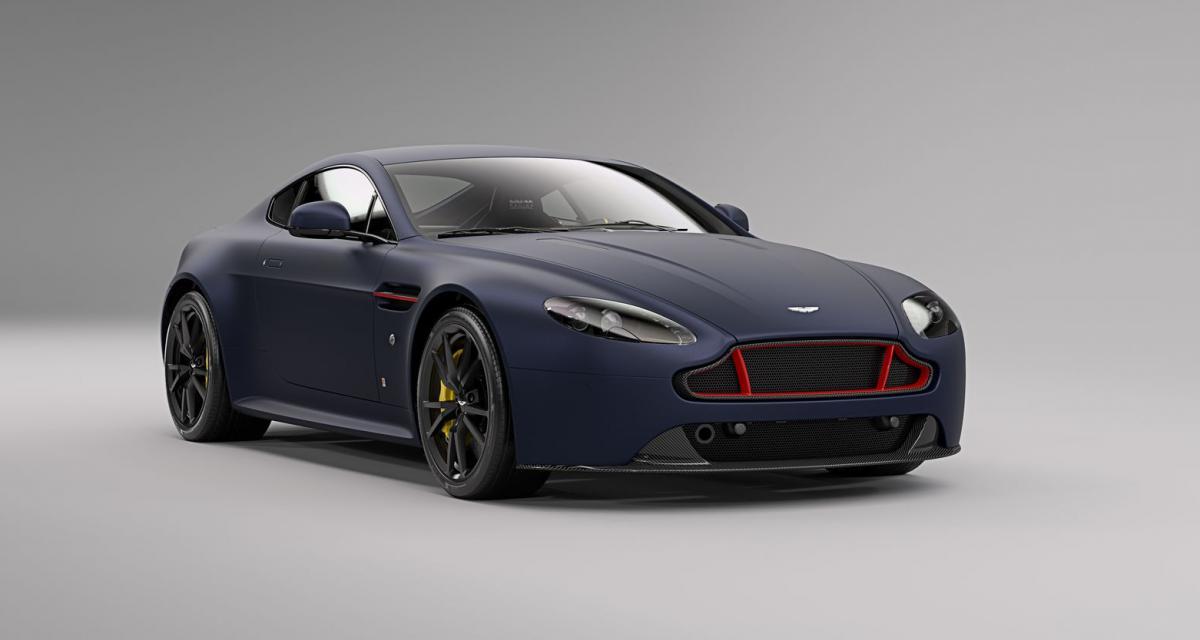 Aston Martin Vantage S : une série limitée aux couleurs de Red Bull Racing
