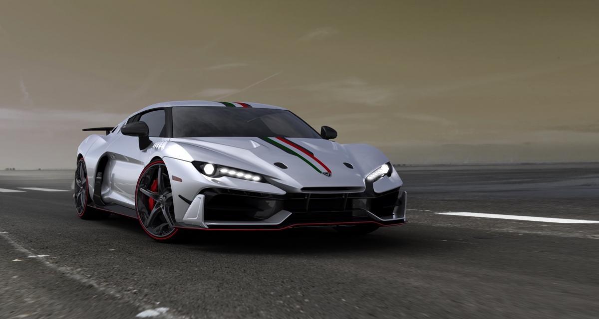Italdesign dévoile une Lamborghini Huracan très vénéneuse