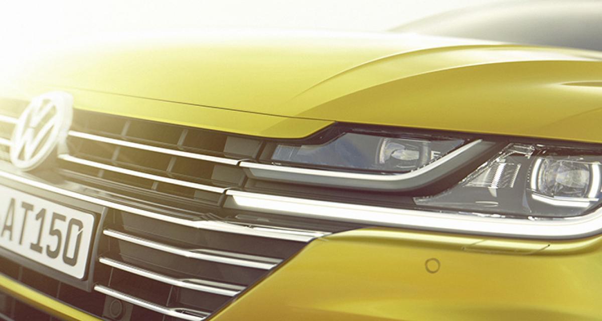 Volkswagen Arteon : la remplaçante de la CC sera à Genève