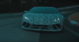 La Lamborghini Huracan Performante présente son aéro actif