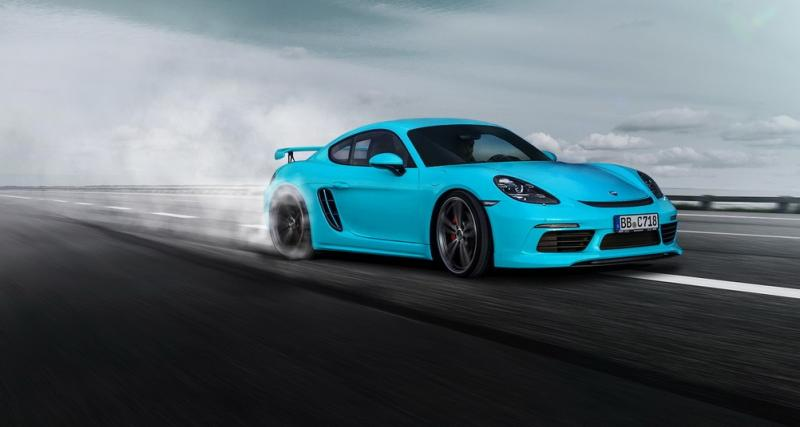 TechArt transforme les 718 Cayman et Boxster en GT4 turbocompressés