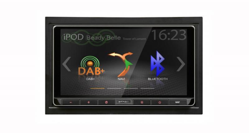 Zenec présente un nouvel autoradio GPS dédié aux Smartphones et sources nomades