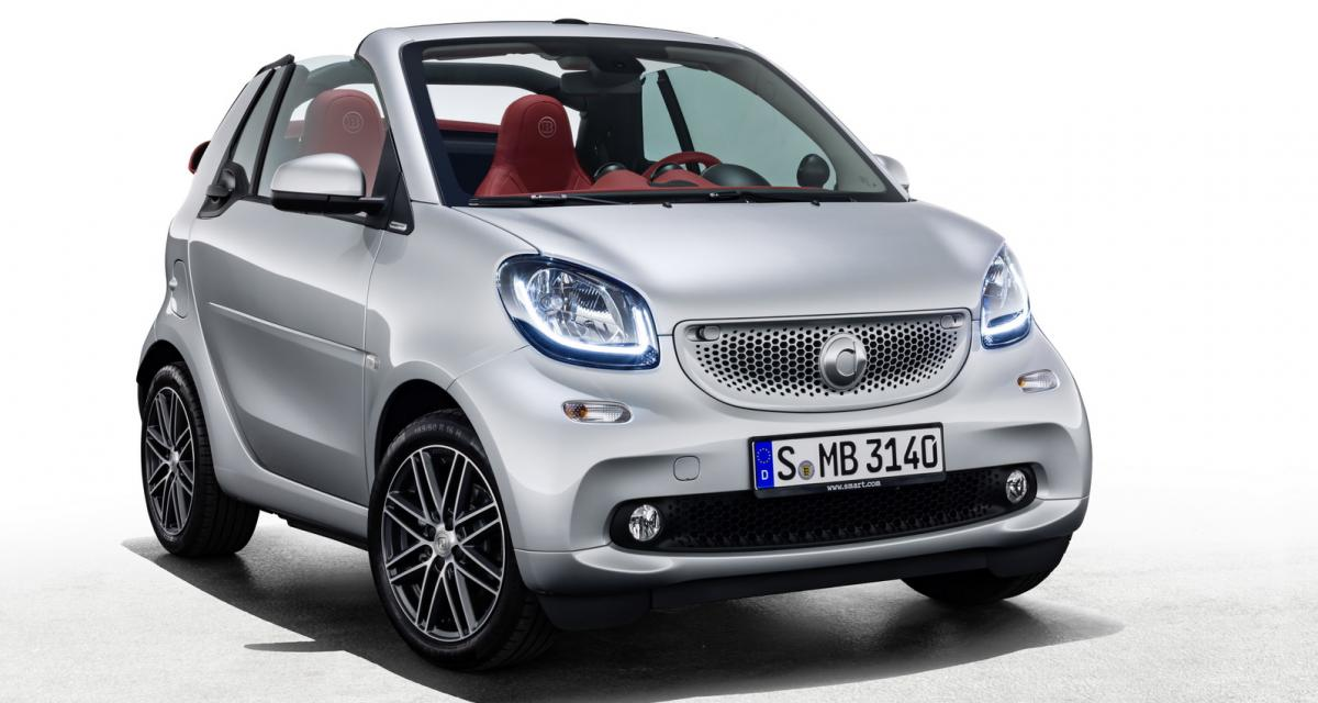 smart fortwo cabrio brabus edition 2 et forfour crosstown. Black Bedroom Furniture Sets. Home Design Ideas