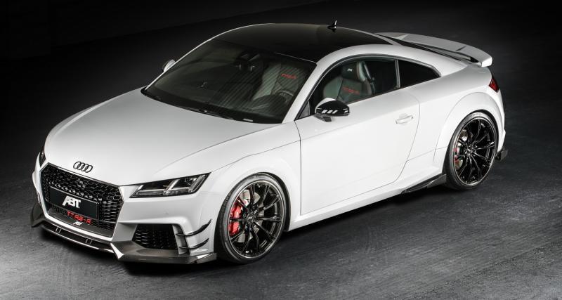 ABT s'occupe de l'Audi TT RS pour le salon de Genève