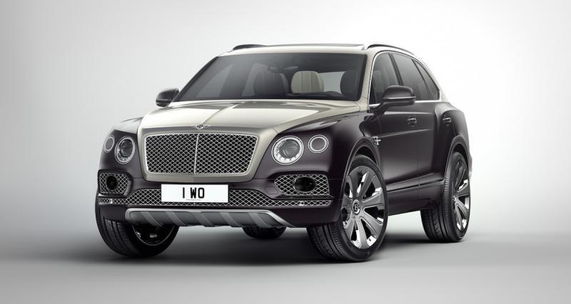 Mulliner apporte de la couleur au Bentley Bentayga