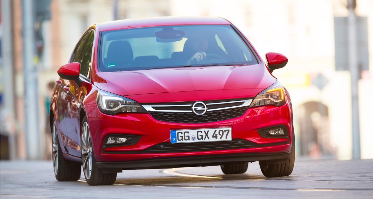 Promo constructeur: jusqu'à 4 000 euros de remise sur l'Opel Astra
