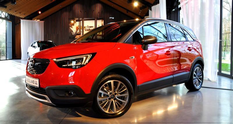 A bord de l'Opel Crossland X