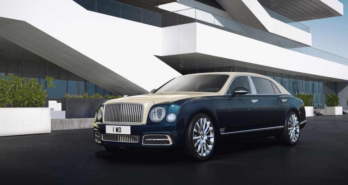 Bentley Mulsanne Hallmark Series by Mulliner : vous êtes plutôt or ou argent ?