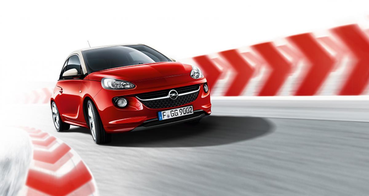 Opel Adam : la version Unlimited est en ce moment à 139 euros/mois
