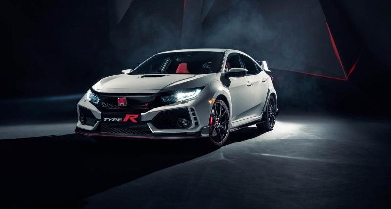 La Honda Civic Type R 2017 sort ses griffes