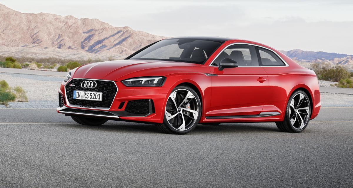 L'Audi RS 5 passe au V6 turbo