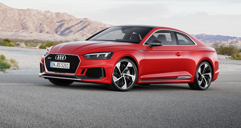 L'Audi RS 5 passe au V6 turbo