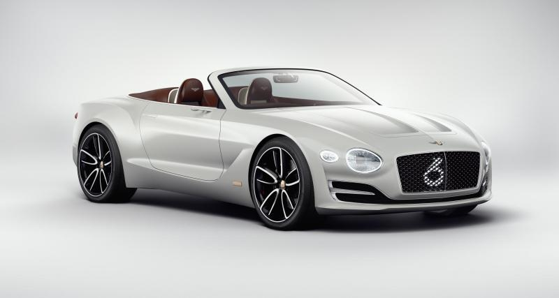 Bentley EXP 12 Speed 6e : un roadster électrique à Genève