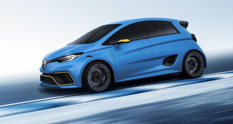 Renault Zoe e-Sport Concept : survoltée