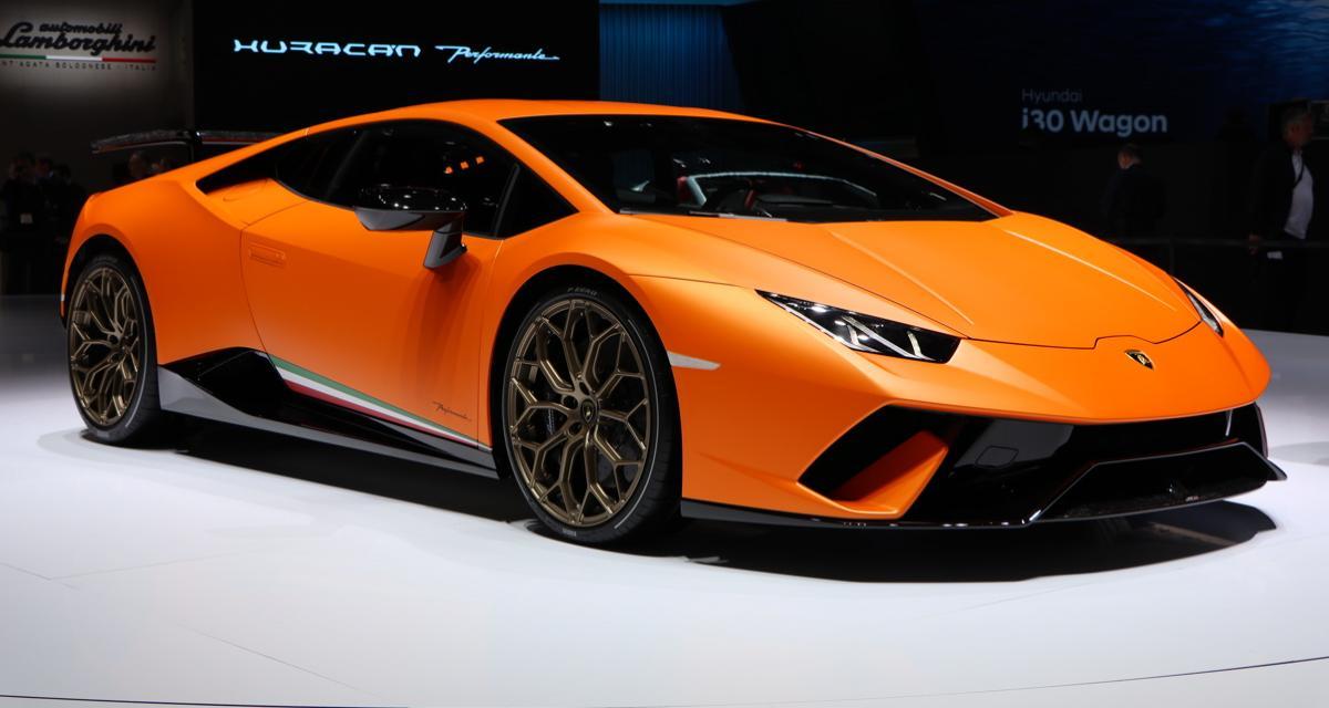 Lamborghini Huracán Performante : comme son nom l'indique