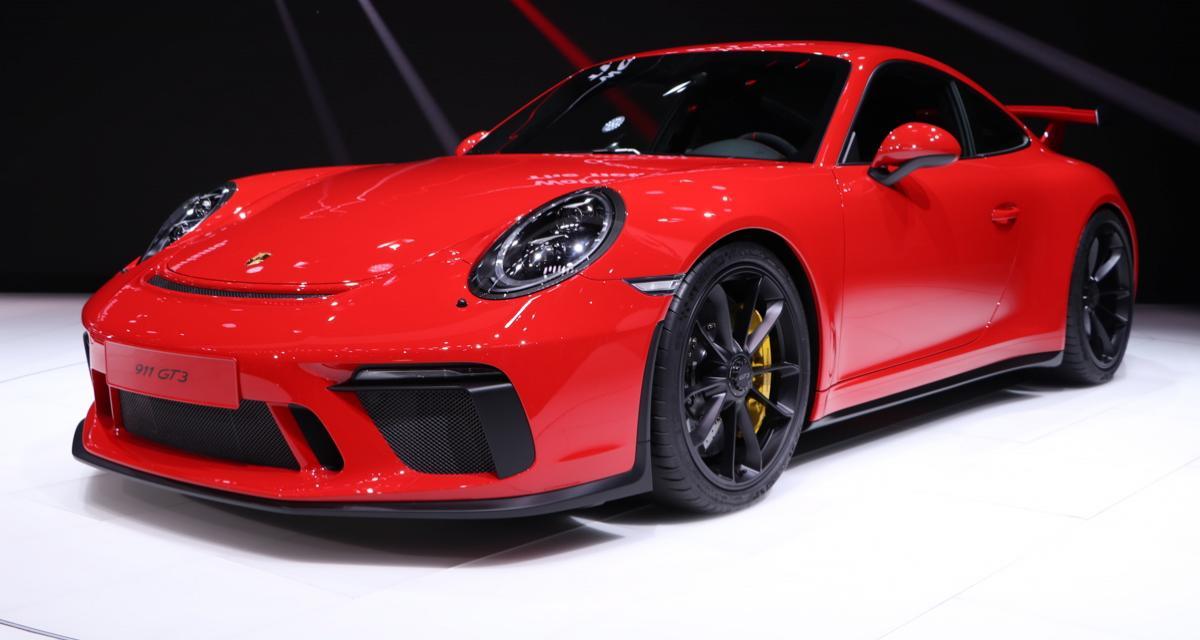 Porsche 911 GT3 2017 : boîte méca, le retour