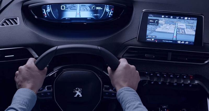 Les nouvelles Peugeot utiliseront les services de navigation Tomtom pour le système i-Cockpit