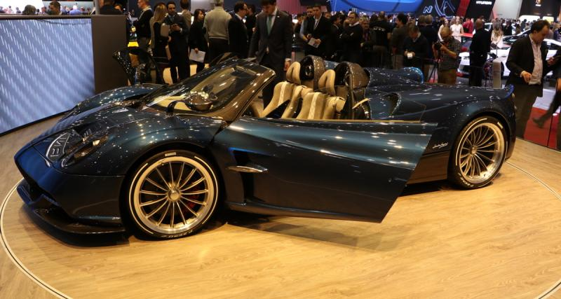 Pagani Huayra Roadster : dolce vita express