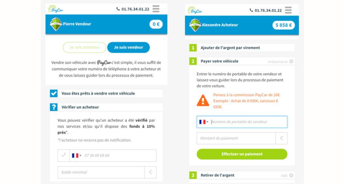 PayCar : une solution de paiement sécurise pour la vente de sa voiture d'occasion