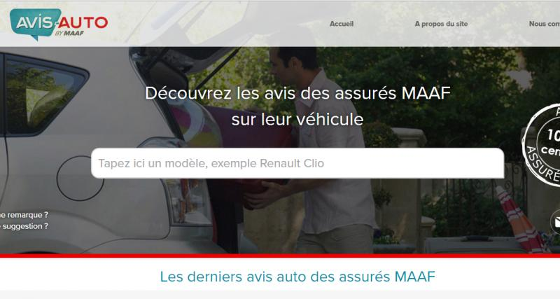 Avis-auto.fr : donnez votre avis sur votre voiture grâce à la MAAF