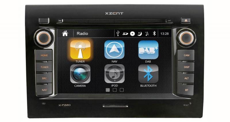 Xzent propose un autoradio GPS « plug and play » pour le Fiat Ducato à un prix très attractif
