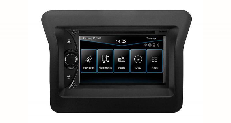 Un autoradio GPS spécial Renault Master 3 chez ESX