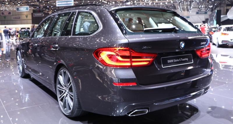 BMW Série 5 Touring 2017 : et maintenant, le break