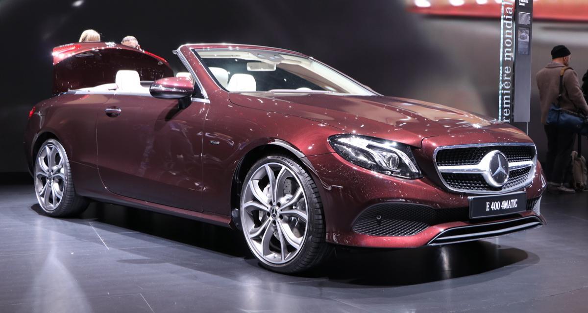 Mercedes Classe E Cabriolet : cheveux au vent, mais pas trop