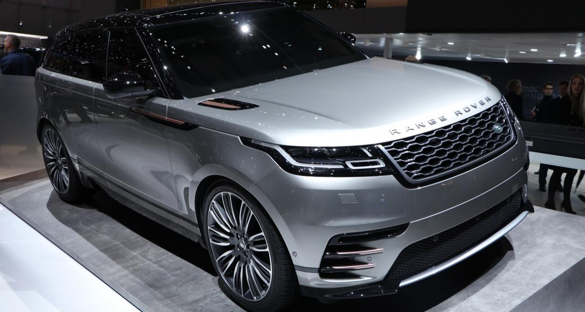 ranger rover velar le nouveau suv coup gen ve. Black Bedroom Furniture Sets. Home Design Ideas