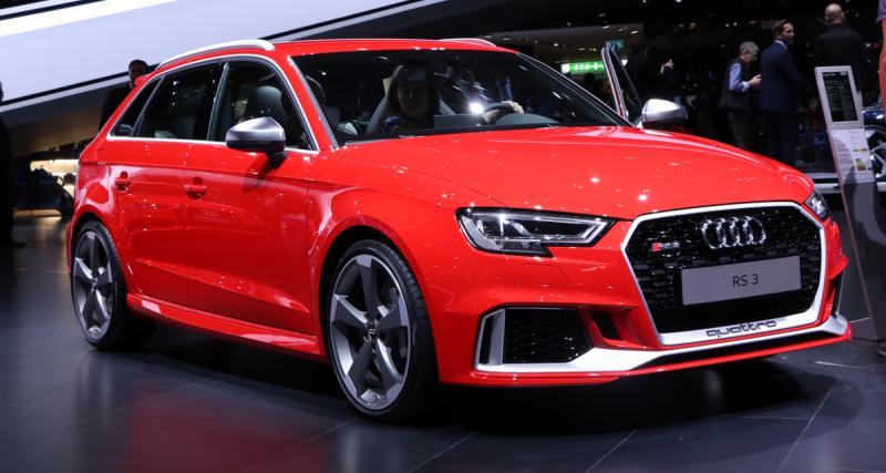 L'Audi RS 3 passe la barre des 400 ch