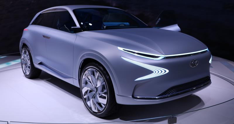 Hyundai FE Fuel Cell Concept : work in progress