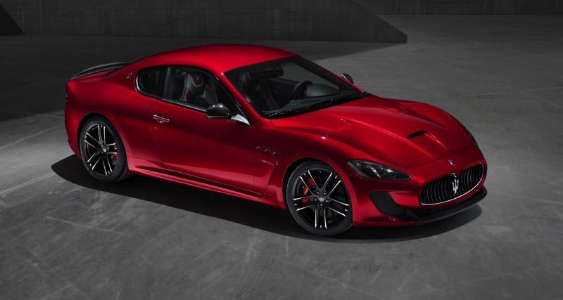 Maserati GranTurismo Sport Special Edition : hommage à 1957