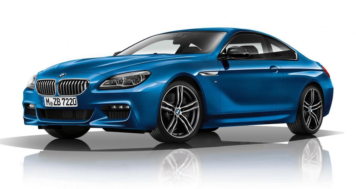 BMW Série 6 M Sport Limited Edition : pour repousser la retraite