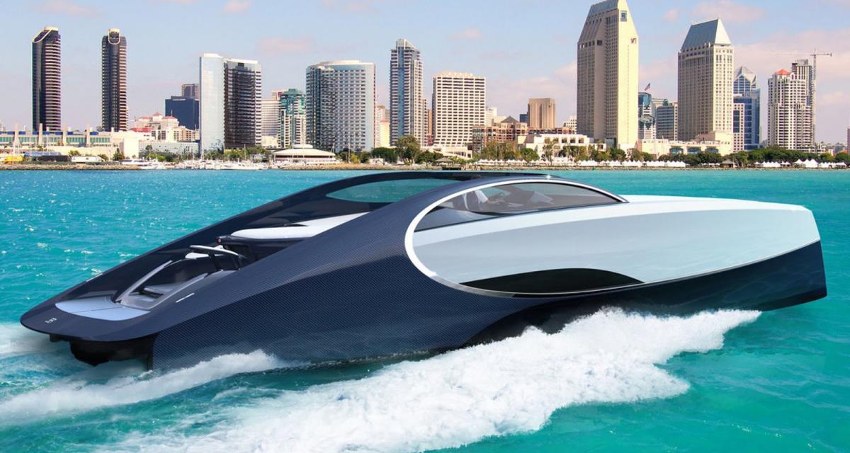 Bugatti Niniette 66 : la Chiron des mers
