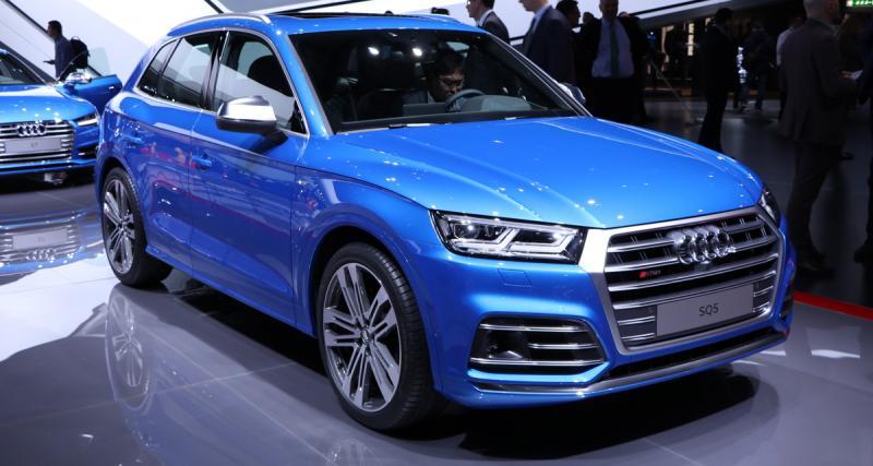 Audi SQ5 : maintenant en essence
