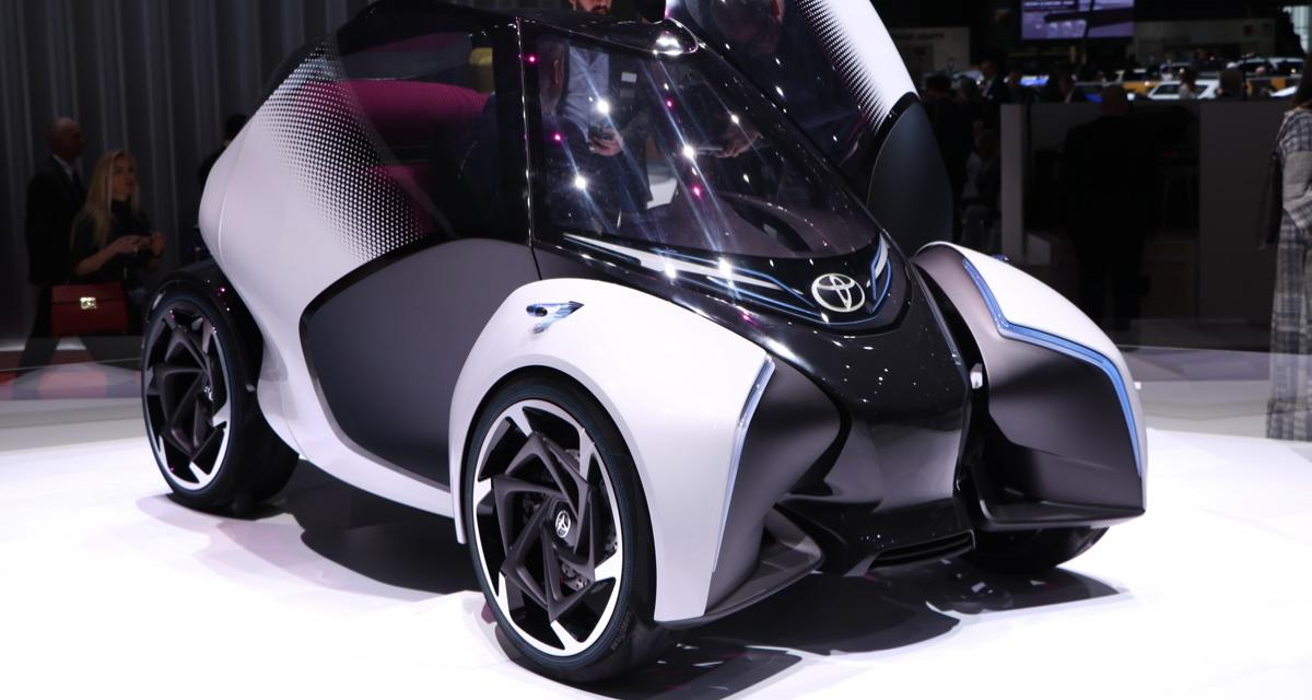Toyota i-Tril Concept : un concentré d'astuce