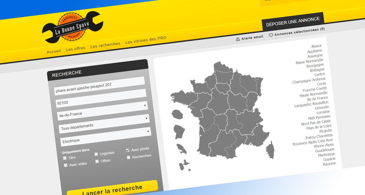 labonnepave.fr: nouveau site spécialisé dans la revente de pièces mécaniques d'occasion