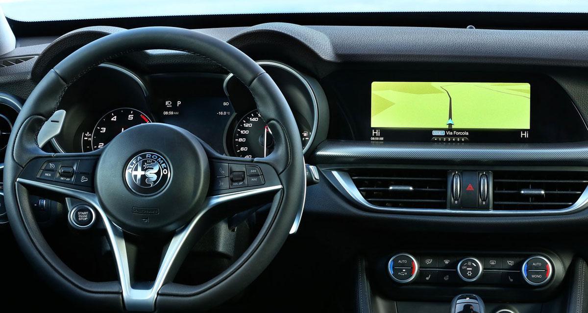 Le SUV Stelvio d'Alfa Romeo s'équipe en Tomtom pour la navigation